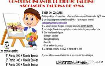 La Asociación Taurina de Ayna organiza un concurso de dibujo infantil - Masquealba.com