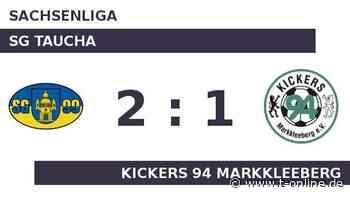 SG Taucha gegen Kickers 94 Markkleeberg: Taucha schlägt Kickers - t-online.de