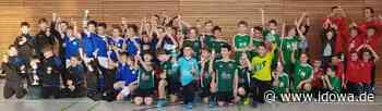 G- und F-Junioren kicken: Fußballhallenturnier des FC Zandt - Chamer Zeitung