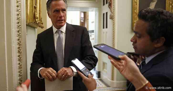 Sen. Mitt Romney says colleagues may quarantine after Rand Paul tests positive for coronavirus