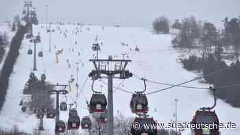 Willingen will am Sonntag ersten Skilift in Betrieb nehmen - Süddeutsche Zeitung
