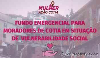 MulherAção Cotia está arrecadando doações para pessoas em vulnerabilidade social - Correio Paulista