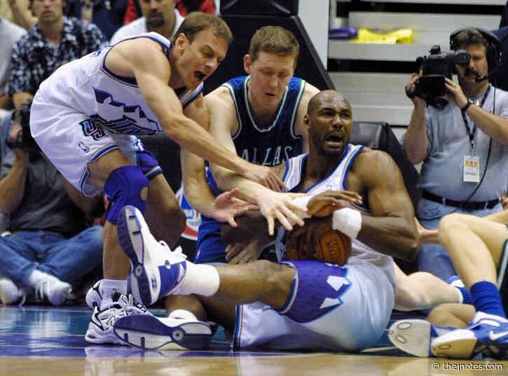 Utah Jazz: Karl Malone and the bloodiest elbows in NBA history