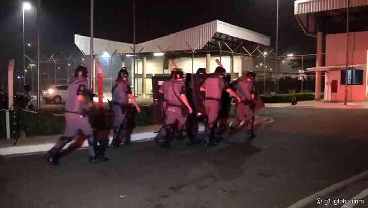 Penitenciária de Porto Feliz registra rebelião e fuga de presos em massa - G1