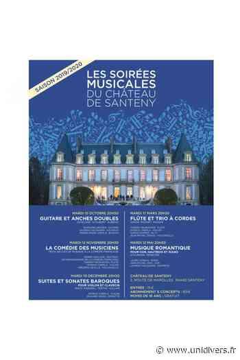Concert et visite : Musique Baroque au Château de Santeny Chateau de Santeny 7 mars 2020 - Unidivers