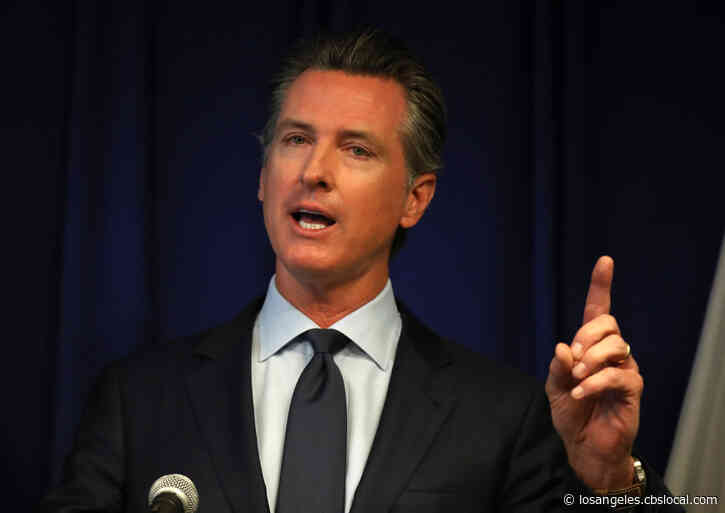 Gov. Gavin Newsom Requests Major Disaster Declaration For Coronavirus Response