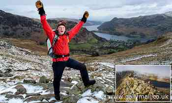 Man, 57, scales the same Lake District peak over and over again - to check weather