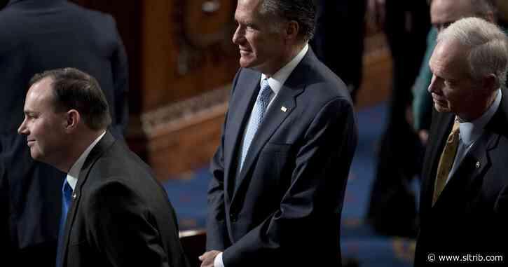 Utah's Mike Lee, Mitt Romney to self-quarantine, and not vote, after Sen. Rand Paul tests positive for coronavirus