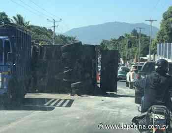 Accidente de transito en desvío de Apulo generó grave congestionamiento en la zona - Diario La Página - Diario La Página