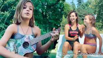El talento de Muna, la hija de Agustina Cherri y Gastón Pauls: tiene 10 años, canta covers y toca... - Ciudad Magazine