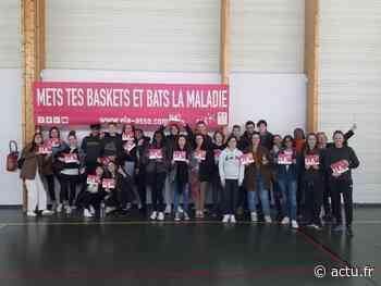 Seine-et-Marne. Rozay-en-Brie : malgré une dernière journée annulée, 218 € récoltés par le lycée pour ELA - actu.fr
