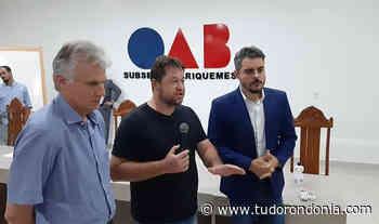 Respiradores mecânicos serão doados para Ariquemes - Tudo Rondônia