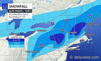 Storm Watch: Here Are Latest Projections On Snowfall Totals, Timing - Somers Daily Voice