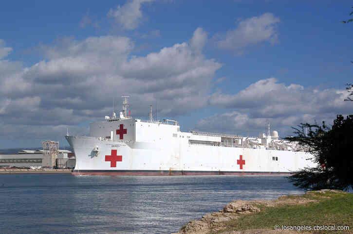 USNS Mercy, Naval Hospital Ship, Heading To LA For Coronavirus Response