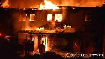 Lemberg Hotel burns down - CTV News