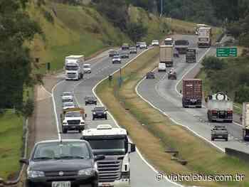 Rodovia Fernão Dias tem trânsito lento após acidente em Carmo da Cachoeira - Via Trolebus