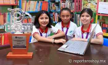 Pequeñas científicas de Oxkutzcab viajarán a concurso Paraguay - Reporteros Hoy