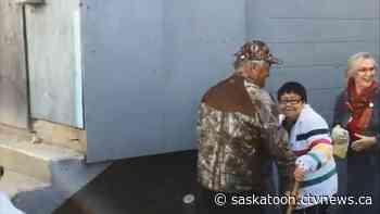 Survivors demolish old residential school in Ile-a-la-Crosse - CTV Saskatoon News