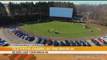 Local church holds drive-in service amid coronavirus outbreak