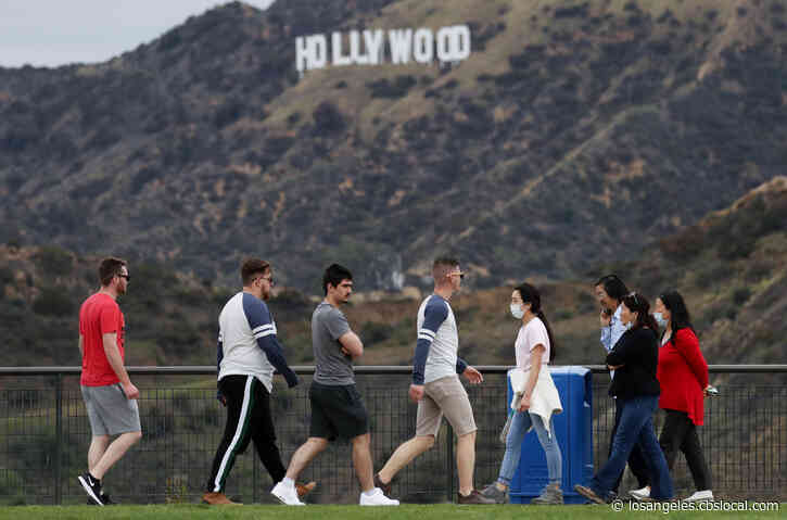 Coronavirus: LA Trails, Golf Courses Closed Due To Large Weekend Crowds