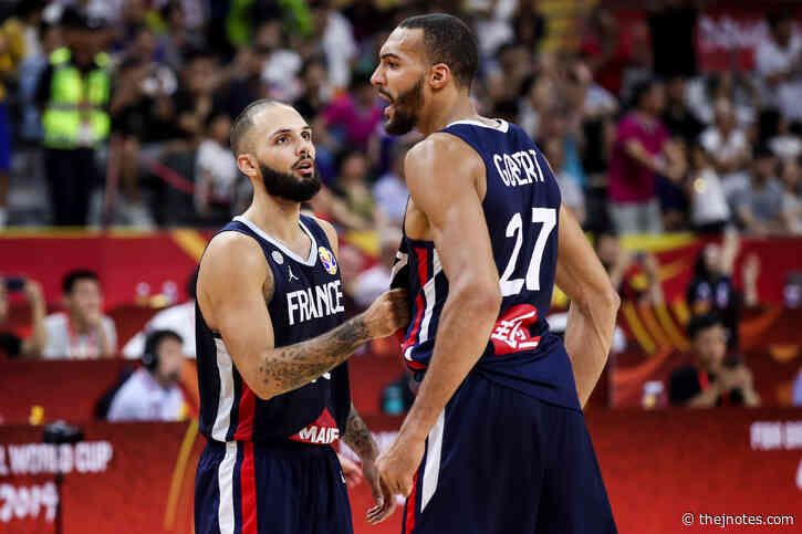 Evan Fournier's loyalty to Rudy Gobert brings happiness to Utah Jazz fans