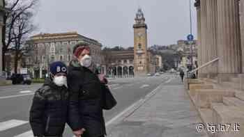 Bergamo spettrale. Dalla provincia, Zogno, la sindaca: mi fa male la solitudine delle persone - TG La7