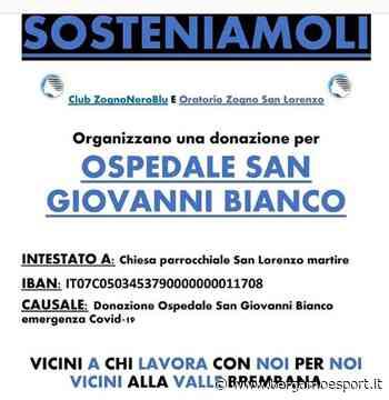 Zogno, i tifosi con l'oratorio: raccolta fondi per l'ospedale di San Giovanni Bianco - Bergamo & Sport