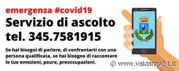 Il Comune di San Giovanni attiva un servizio di ascolto telefonico - Valdarno24