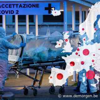 Na Italië en Spanje komen Frankrijk en Duitsland: de corona-epidemie in cijfers en kaarten