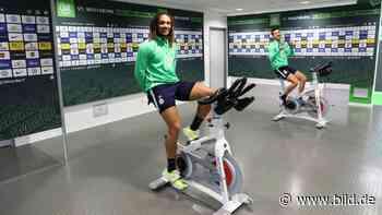 So lief der Trainings-Start beim VfL Wolfsburg - BILD