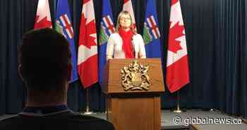 Alberta officials to update provincial response to COVID-19 Monday afternoon