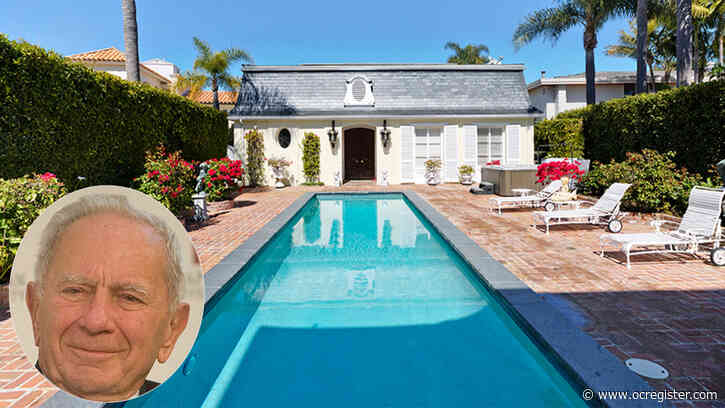 Ex-Yugoslavian PM Milan Panic lists Newport Beach home for $20 million
