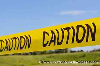Mill Bay strata using yellow caution tape to tie neighbourhood together during crisis - Cowichan Valley Citizen
