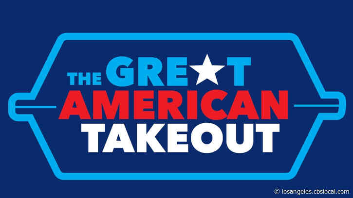 Consumers Urged To Join Tuesday's 'Great American Takeout' To Support Restaurants