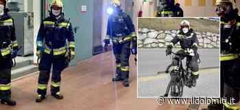 Coronavirus, incendio all'ospedale di San Candido. I vigili del fuoco intervengono anche in bicicletta per rispettare la distanza interpersonale - il Dolomiti