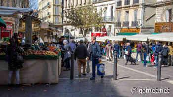 Confinement : la mairie réduit de moitié l'activité du marché de Noailles - Gomet'