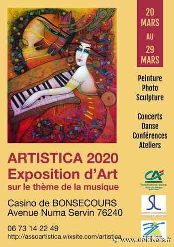 ARTISTICA 2020 Casino de Bonsecours 20 mars 2020 - Unidivers