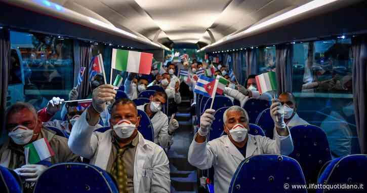 Grazie Cuba, grazie ai medici contro il virus! Vergognoso il comportamento degli 'alleati'