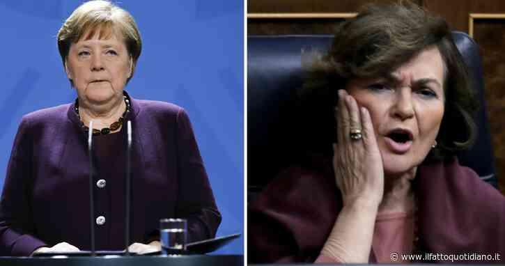 """Coronavirus, Afp: """"10mila morti in Europa"""". In Spagna oltre 2.100 vittime: vicepremier ricoverata per infezione respiratoria. Francia: 3.800 nuovi contagi in 24 ore"""
