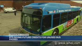 RTS offering free bus rides, credit for unused passes