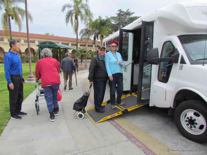 Bus transportation in Laguna Woods remains popular — and essential — for many
