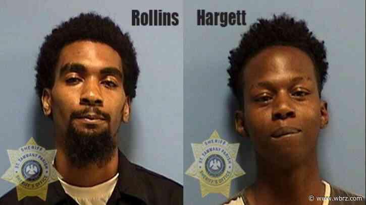 Two Slidell men arrested in Mississippi man's murder