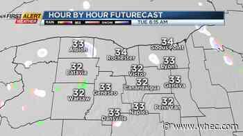 First Alert Weather Snapshot: Rain/snow ends, some sun returns