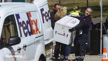 Fedex COO Says Virus Risk to Customers From Packages 'Very Small'