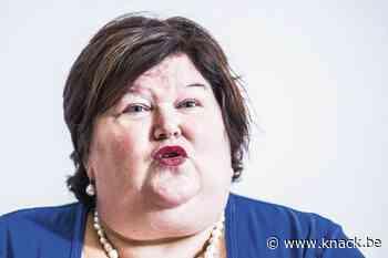 Maggie De Block over vernietigde mondmaskers: 'Werken aan plan voor roterende stock'