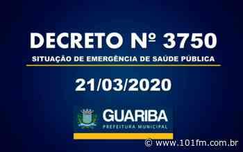 Guariba está com o comércio fechado e restrições a mercados e farmácias - Rádio 101FM