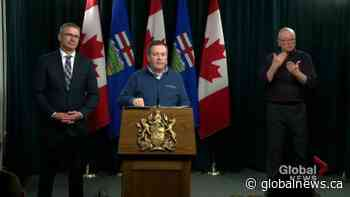 Kenney issues special warning to snowbirds returning from U.S. to self-isolate