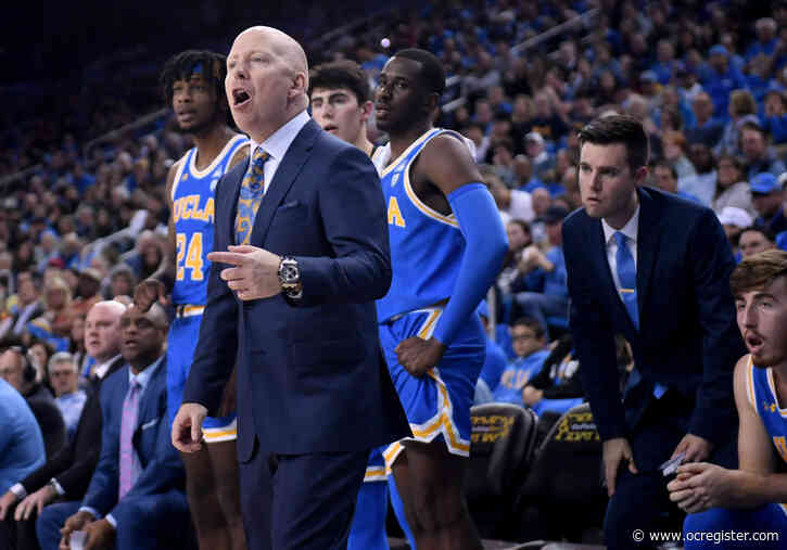 UCLA men's basketball's Mick Cronin wins NABC Coach of the Year for District 19