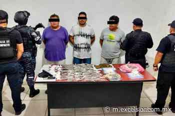 Aseguran droga en el municipio de Huixtla de Chiapas - Excélsior