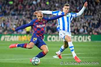 Martin Braithwaite vows to score 'greatest goal' of his career at Barcelona as forward stays positive over future